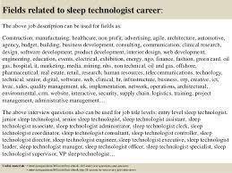 Sleep Technician Resume Under Fontanacountryinn Com