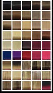 Hair Extension Color Chart Hair Color Number Chart Hair Color Ideas And Styles For 2018