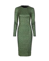 Dolce Gabbana Jacquard Dress