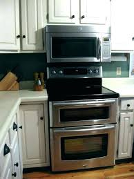 double wall oven with microwave above like also this decorating ideas 26