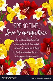 Spring Photo Cards Spring Time Flowers Seasonal Greeting Card