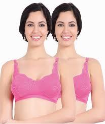 Sonari Bra Size Chart Sonari Pink Net Bra Pack Of 2