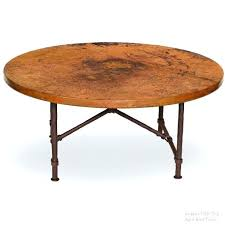 coffee table with round top 42 oval