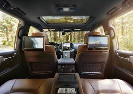 2017 Toyota Land Cruiser interior, technology, leather front seats ...