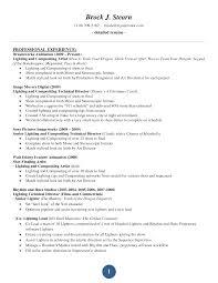 Resume Set Up Samples Free Resumes Tips