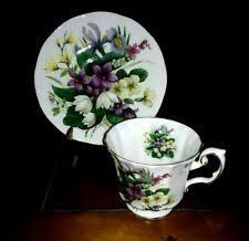 Антикварная керамика и фарфор чашки и блюдца - огромный ...