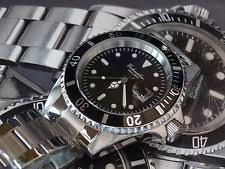 mens german watches quality dive watch submariner 42mm 200 meters by german brand eichmuller