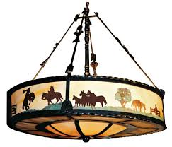 western themed lighting fixtures light