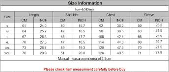 Aliexpress Size Guide How To Choose Your Clothes