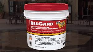 How To Use RedGard Liquid Waterproofing And Crack Prevention - Exterior waterproof sealant