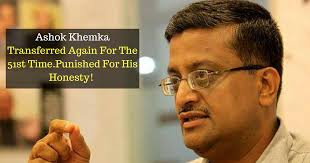 Image result for ashok khemka