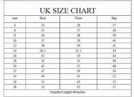 Uk Size Chart Women Dress Bedowntowndaytona Com