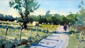 lastly in this you ll find a variety of common watercolor techniques for creating a lovely painting of a country road follow along or just watch and