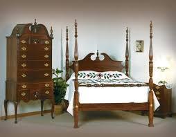 queen anne bedroom furniture set cherry white