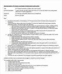 Conference Services Manager Resume Elegant 8 Sample Event