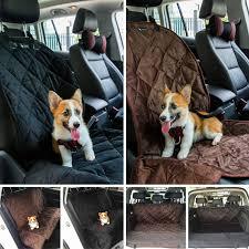 mat brown seat rear waterproof hammock supply cushion cover car back dog pet