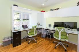 next office desk. corner double desk computer office inspired armoire in home contemporary with two person next to i
