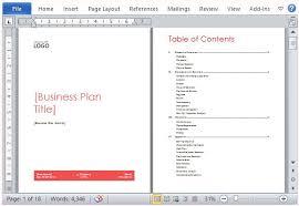 Ms Word Business Plan Template Microsoft Office Business Plan Template Ms Word Business Plan