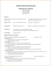 Cv Resume Education Resume For Higher Education Administrator 1