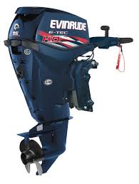 its weight and spec make the evinrude e tec 15 ho best suited to