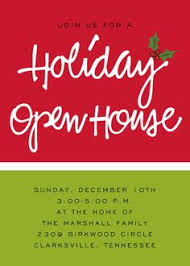 christmas open house flyer holiday open house party invitations open house invitation
