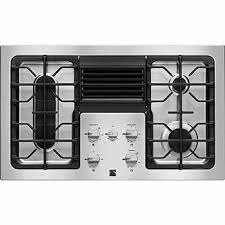 gas cooktop with downdraft. Kenmore Elite 31123 36\ Gas Cooktop With Downdraft N