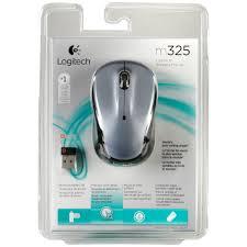 Logitech M325 Wireless Optical Mouse Light Silver Logitech M325 Cordless Mouse Light Silver Mouse Input