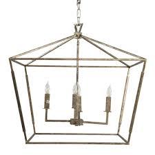 gabby amelia small chandelier silver