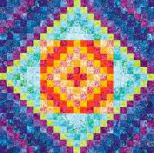 Free Batik Quilt Patterns | AllPeopleQuilt.com & Batik Rainbow Wall Hanging Adamdwight.com