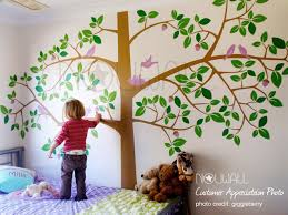 kids rooms tree wall decal tropical kids decor pottery barn kids wall decals creative