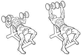Bench Decline Bench Triceps Extension Decline Hammer Grip Decline Barbell Bench
