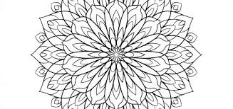 Coloring Pages Free Flower Mandala Coloring Pages Coloring Pages