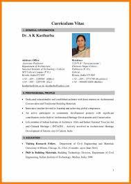 Resume In India Eliolera Com