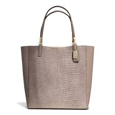 Coach    International...MADISON EMBOSSED LIZARD BONDED TOTE   695 No.