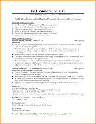 Pharmacy Cv Examples Magdalene Project Org