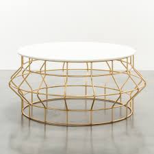 wonderful round gold coffee table with gold coffee tables living room table design ideas leaf an thippo
