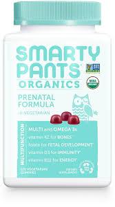 SmartyPants | Organic - <b>Prenatal</b> Formula | FREE 1-3 Day Delivery