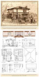 architecture houses blueprints. Delighful Houses Portrait And Plans For A Rustic Mediterranean Style Home Suitable  Sloping Lot On Mountainside Twostory Design Features Primary Living Spaces O Inside Architecture Houses Blueprints L