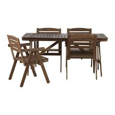 outdoor table and chairs. FALHOLMEN Table+4 Chairs W Armrests, Outdoor. Outdoor Table And R
