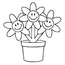 Small Picture Best Flower Pot Template Coloring Pages Pictures Free Coloring