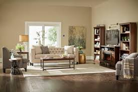 area rugs wood stand bookcase abstract wall art vanilla linen fiber love seat sofa tan polyester