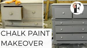 chalk paint dresser makeover from gross to gorgeous salvaged diy