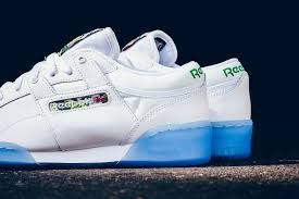 reebok workout low. icey detailing on the reebok workout low o
