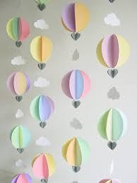 make hot air balloon decorations