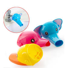 details about cute cartoon bathroom sink faucet extender for children kid washing hands