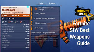 Fortnite Save The World Best Weapons Fortniteitems Gg