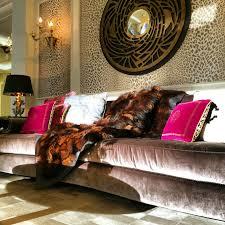 zebra print living room decorating
