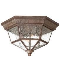 Minka Lavery  Taylor Court  Inch Wide  Light Outdoor Flush - Flush mount exterior light fixtures