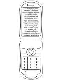 Biglietto Festa Del Papà A Forma Di Cellulare Tuttodisegnicom