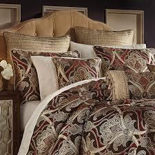 unusual design tan paisley bedding comforter sets bedspreads croscill bradney set and white